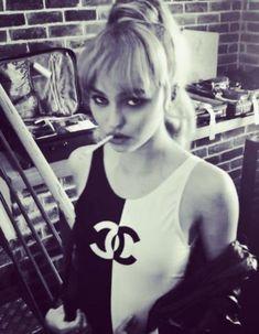 Lily Rose Melody Depp, Lily Rose Depp Style, Lily Rose Depp Chanel, Vanessa Paradis, Johnny Depp, Lily Depp, Badass Women, Celebs, Celebrities