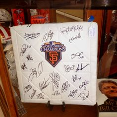 Check out our San Francisco Giants autographed memorabilia at Yesterdays Treasures Consignment!!! $2000