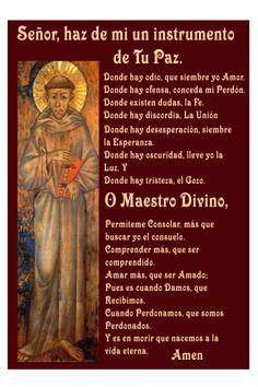 Spanish St Frances Prayer  Oracion de San Francisco by GabbyDreams