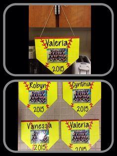 Softball Senior Gift @ajtanguma #softball