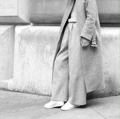 Wool Layers - chic minimalist tailoring, understated style // Maria Van Nguyen