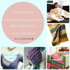 Which of these free knitting patterns for beginners is your favorite? Whether you're just beginning knitting or a seasoned knitter, we know you have an opinion! Tell us in the comments!