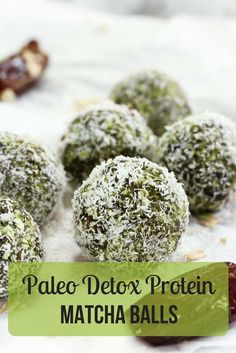 So much detox packed into such a little snack: try these matcha protein balls! Give your body a much-needed makeover with this superfood smash. http://epicmatcha.com/matcha-protein-balls/?utm_source=pinterest&utm_medium=pin&utm_campaign=social-organic&utm_term=pinterest-followers&utm_content=blog-detox-matcha-protein-balls #matcha #protein #recipe #detox