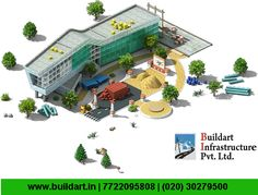 Buildart Infrastructure Pvt. Ltd., the construction you can finally relay on!  Visit : www.buildart.in | 7722095808 | (020) 30279500