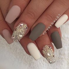 Pretty winter nails art design inspirations 69 #nailart