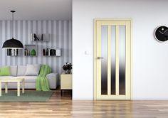 Dveře Sapeli - KUBIKA dýha javor evropský Room Divider, Decor, Furniture, Home, Entryway, Home Decor, Room