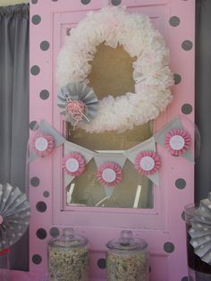 "Photo 1 of 17: Baby Shower/Sip & See ""a fairy & pretty pink baby shower"" 
