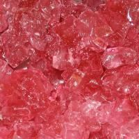 Red Color Strawberry Rock Candy Strings - 5 lb bag