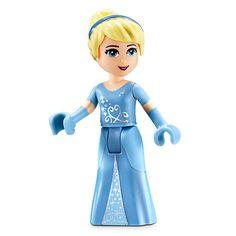 Cinderella's Romantic Castle Playset by LEGO Lego Minifigs, Lego Ninjago, Yummy World, Lego Disney Princess, Mermaid Wallpapers, Lego Girls, Lego People, Diy Barbie Clothes, Disney Merchandise