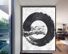 Extra Large Acrylic Painting On Canvas por CelineZiangArt en Etsy