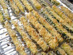 baked zucchini sticks