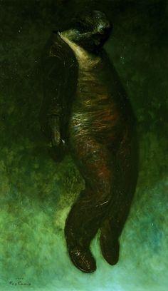 「夢候よ」 1974年 油彩 162.0×97.0