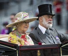 Princess Alexander & Prince Michael of Kent June 15