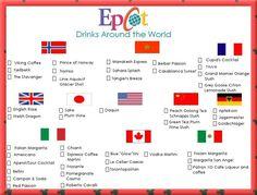 Drinks Around the World (Epcot)