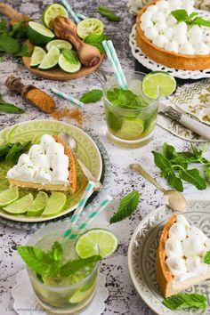 Tarta de mojito | Food Photography