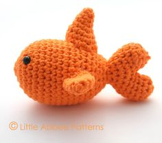 Download Now  CROCHET PATTERN Goldfish PDF 76 by littleabbee, $2.99