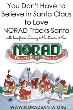 Follow NORAD Tracks Santa for a super-fun geography lesson on Christmas Eve ... great activity for families whether or not they believe in Santa Claus Santa Call, Christmas Hanukkah, Happy Hanukkah, Santa Website, Christian Holidays, Geography Lessons, Christmas Activities For Kids, Montessori Activities, Xmas