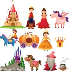 free vector Cartoon fairytale image of 02 vector graphic available for free download at 4vector.com. Check out our collection of more than 180k free vector graphics for your designs. #design #freebies #vector