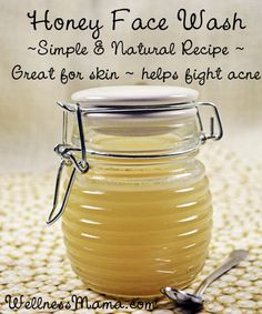 Homemade Honey Face Cleanser...http://homestead-and-survival.com/homemade-honey-face-cleanser/