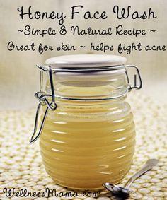 Homemade Honey Face Cleanser...http://homestead-and-survival.com/homemade-honey-face-cleanser/