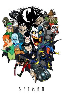 Batman The Animated Series - Delfin Diaz