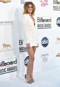 May 21st, 2012: Miley Cyrus, who seems to have adopted Lady Gaga's tendency to walk around without pants on.