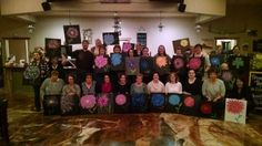 Another fun wine and painting party
