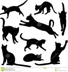 cat silhouette - Google Search