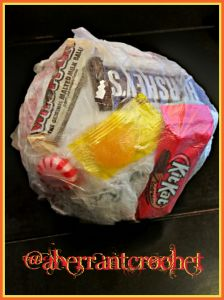 Tape Ball / Candy Ball / Saran Wrap Ball GAME! Need a fun activity for a party? Looking for some fun memories to pad your holidays?  Then I might have just the thing for you. #Christmas #Games