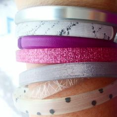 I think I need to find that pink one! What A Girl Wants, Arm Party, Amber Color, Fair Trade, Jewlery, Stylists, Sparkle, Bling, My Style