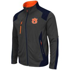 Auburn Tigers Colosseum Double Coverage Jacket - Charcoal - $52.99