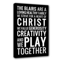 family mission statement by zoe - Canvas x (Stretched) Family Mission Statements, Stretched Canvas, Photography Ideas, Photoshoot Ideas