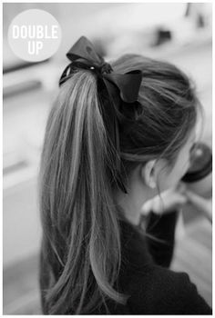 Cheerleader hairstyles