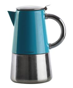Novo Teal Espresso Maker | Daily deals for mums, babies and kids