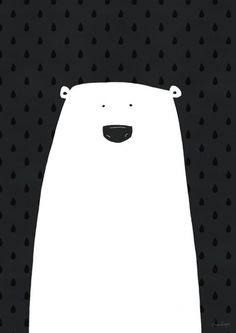 Polar bear [SB0421] | Posters | størblends