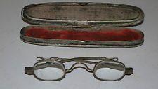 Antique Eyeglasses and Case C. Parker Patented Jan. 24 1860 Civil War era