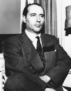 Roberto Rossellini - (May8, 1906 - June 3, 1977) film director and screenwriter - part of the Italian neorealist cinema. Directed Roma città aperta (Rome, Open City 1945).