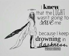 And now it became a part of me and it's better than light coz now my demons became my friends Sad Anime Quotes, Manga Quotes, Depression Quotes, Anime Depression, Dark Quotes, My Demons, Les Sentiments, In My Feelings, True Quotes