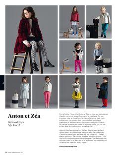 #kids #fashion #antonetzea #editorial #milkmagazine Collection Automne Hiver 2013-2104