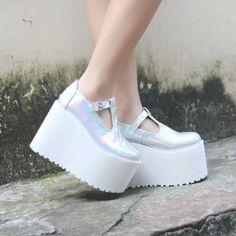 """Harajuku lolita platform shoes Coupon code """"cutekawaii"""" for 10% off"""