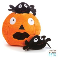 Martha Stewart Pets™ Halloween Haunted Pumpkin Dog Toy - PetSmart