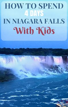 While the powerful waterfalls are truly spectacular, there are plenty of other reasons to choose Niagara Falls as your next family vacation.