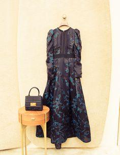ELIE SAAB X The Coveteur | When in Paris... wear an enormous @eliesaab gown. Even if it's just to get a baguette.