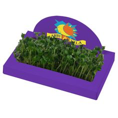 Tend to your growing client list with this imprinted mini garden!
