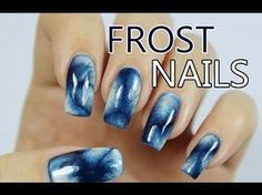 Frost On Nails? Create a Window Frost-like Manicure With This TUTORIAL - Lucy's Stash