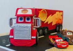 Mack Truck Disney Cars cake