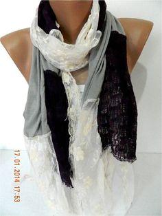 Elegant scarf  Fashion scarf  scarves  Shawl-Gif Scarf
