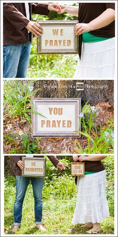 For the Love of a Frame Photography Owners/Photographers Aaron and Nikki - Their Baby Reveal Photo  www.fortheloveofaframe.com #babyreveal #maternity #prayer #religiousbabyreveal #orlandomaternityphotography #orlandophotography #maternityphotos