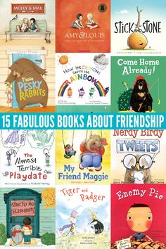 Help your child learn to make and keep great friends with this fabulous collection of picture books about friendship. Best Children Books, Childrens Books, Children Play, Toddler Books, Social Emotional Learning, Social Skills, Character Education, Art Education, Friend Book