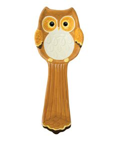 Another great find on #zulily! Woodland Friend Owl Spoon Rest #zulilyfinds